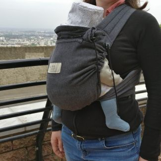 Illustration de Babycarrier Storchenwiege
